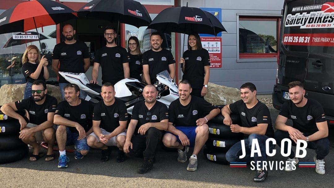 500 miles de Magny-Cours 2019 – Sponsoring Jacob Services